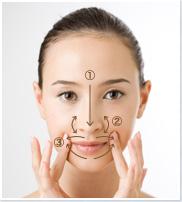 massage xóa nhăn da và nâng cơ mặt
