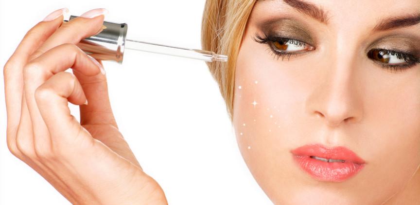 Kết quả hình ảnh cho sử dụng serum trẻ hóa da