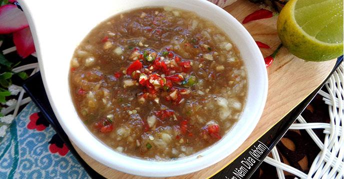 - nuoc cham 5 - Nước chấm là linh hồn của món ăn và 10 cách pha nước chấm cực ngon cho các món cá, thịt, nem…