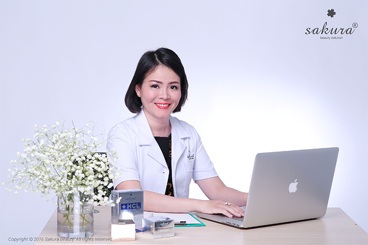 Tiến sĩ, Bác sĩ Đào Hoàng Thiên Kim, Chuyên gia da liễu – Da thẩm mỹ, có thời gian tu nghiệp tại Nhật 10 năm