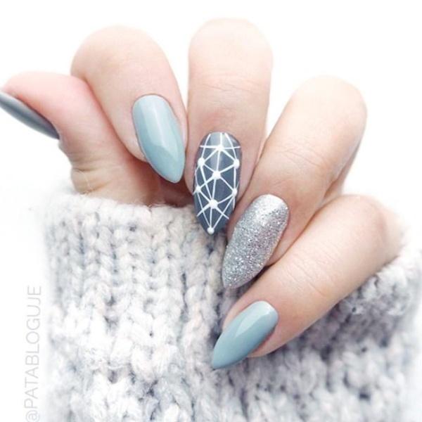 Tone màu xanh ngọc rất được ưa chuộng trong mùa đông năm nay.