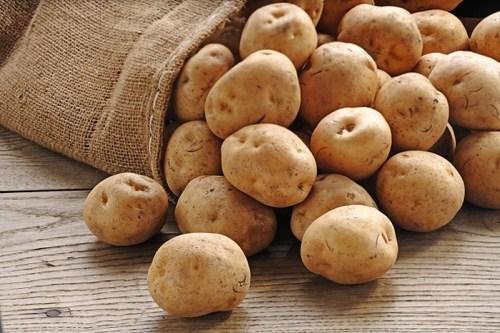 khoai tây trị mụn hiệu quả