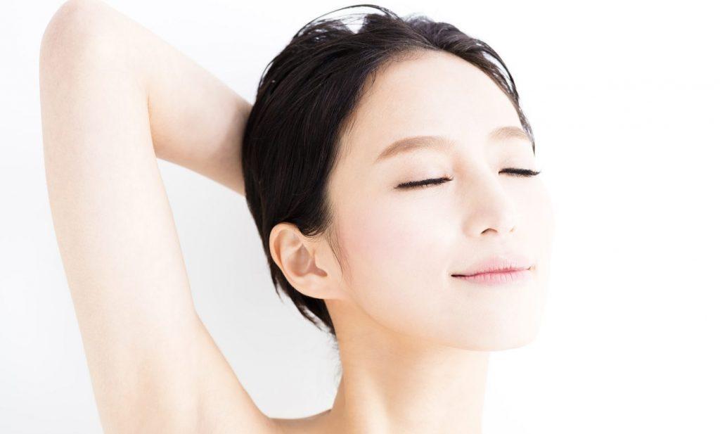 Kết quả hình ảnh cho Làn da mềm mại, mịn màng của phụ nữ Nhật.