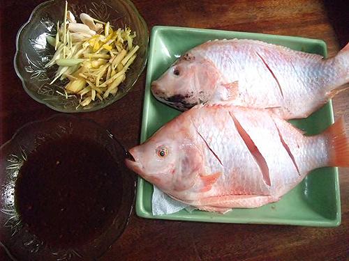 Trước khi rán, ngâm cá vào nước này, cá rán sẽ vàng ruộm, giòn ngon không chút mùi tanh