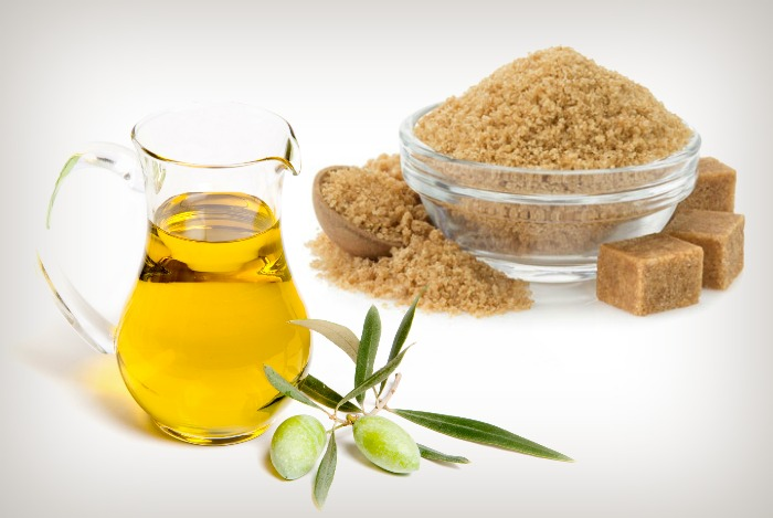 olive-oil-and-brown-sugar