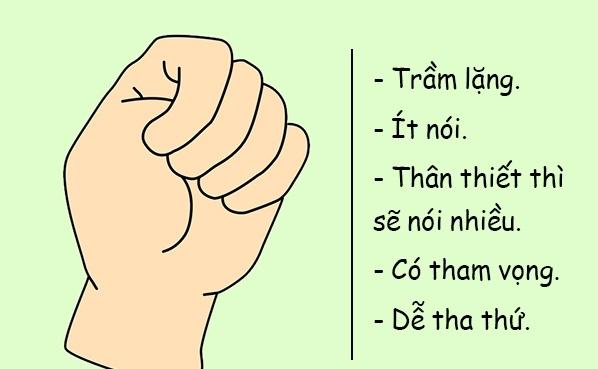"""- nam tay 1 - Giải mã những bí ẩn về tính cách của bạn qua """"nắm đấm"""""""