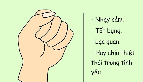 """- nam tay 2 - Giải mã những bí ẩn về tính cách của bạn qua """"nắm đấm"""""""