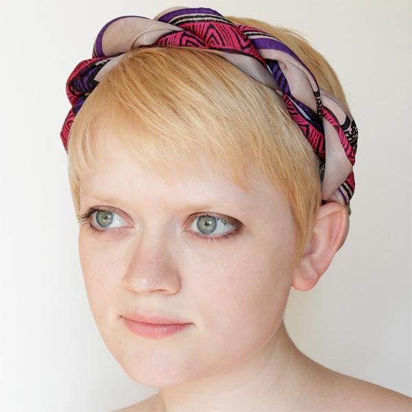 Thay đổi kiểu tóc trong 1 phút chỉ với khăn choàng - Ảnh 8
