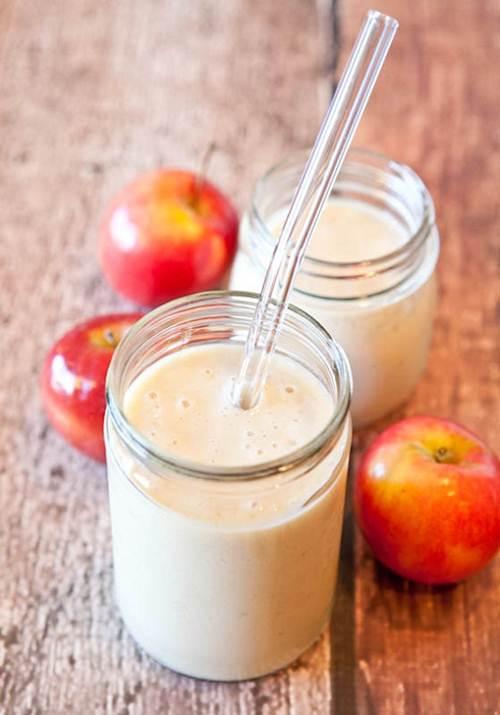 Sinh tố bưởi và táo