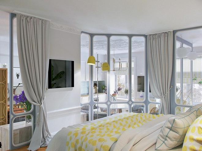 Thiết kế căn hộ nhỏ có hai phòng ngủ cực kỳ thông minh - Ảnh 4.