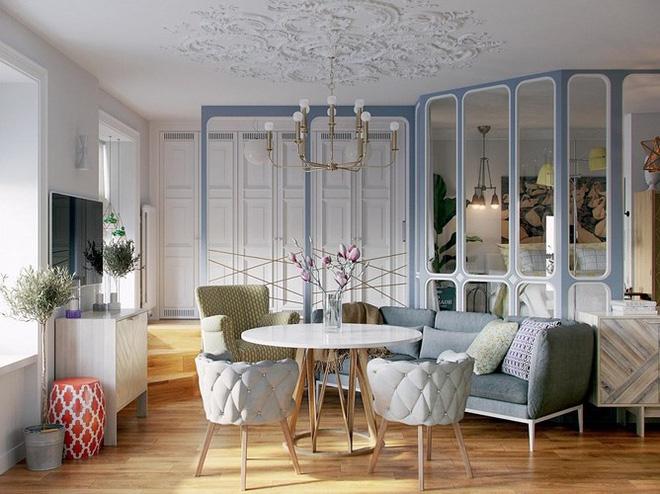 Thiết kế căn hộ nhỏ có hai phòng ngủ cực kỳ thông minh - Ảnh 5.
