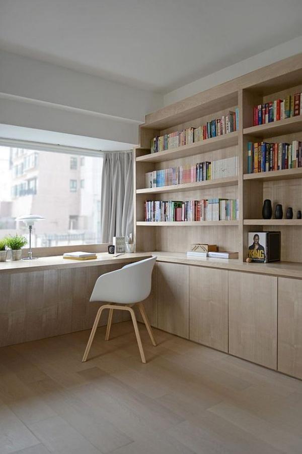 Những cách tận dụng không gian cửa sổ để tạo góc làm việc thoải mái cho nhà hẹp - Ảnh 7.