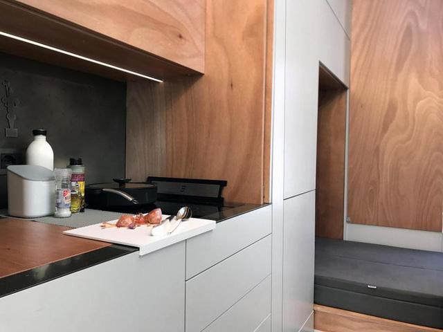 Người thiết kế lấy cảm hứng xây dựng ngôi nhà từ chiếc dao nhỏ gọn nhưng đa năng của Thụy Sĩ.