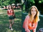Mix đồ đơn giản nhưng nổi bần bật như hot girl Ukraine