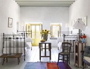 Nhà đẹp tươi mát theo phong cách Hy Lạp