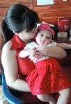 Mẹ hiếm muộn 7 năm đẻ con đẹp như thiên thần