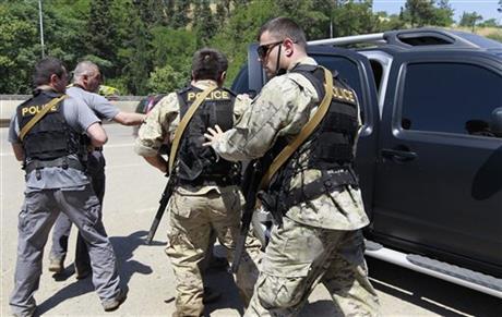 Hổ 'chạy lụt' giết chết người ở Tbilisi