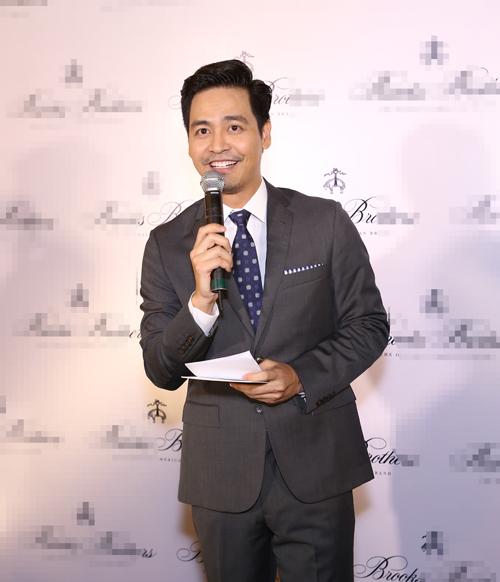 MC Phan Anh diện veston bảnh bao - 2