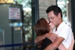 Nụ hôn của đôi vợ chồng trước tòa ly dị