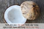 Bạn được lợi gì khi uống nước dừa?