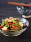 Cách chế biến món thịt ba chỉ xào đậu đũa giản đơn mà vẫn hấp dẫn
