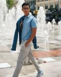 Trang phục cho chàng trong những ngày hè oi ả