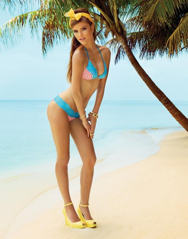 10 thân hình bikini nóng bỏng nhất làng mốt