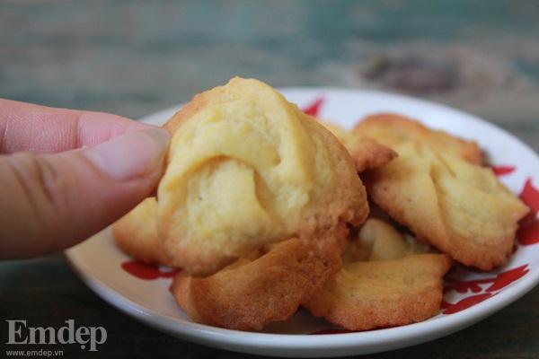 Bánh quy bơ giòn tan thơm phức