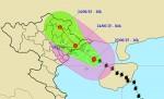 Rạng sáng mai bão số 1 sẽ đổ bộ vào Quảng Ninh