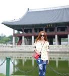 Minh Hằng hào hứng khám phá Hàn Quốc