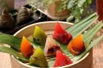 Cách làm bánh gạo nhân hoa quả dẻo thơm xinh đẹp