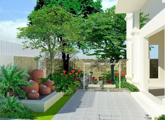 Kết quả hình ảnh cho nên trồng cây gì trước cửa nhà