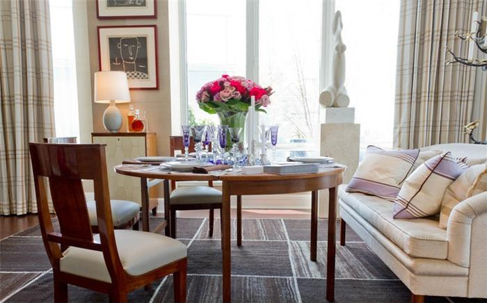 Kết quả hình ảnh cho Bàn ghế phòng khách kết hợp bàn ăn