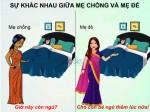 Sự khác biệt giữa mẹ chồng và mẹ đẻ