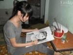Nỗi bất hạnh của thí sinh nghèo vẽ tranh kiếm tiền đi thi