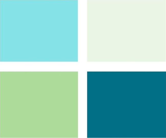 Những mẫu phòng ngủ đẹp dành cho những người yêu màu xanh