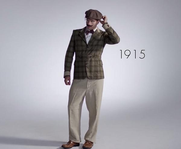Thời trang nam biến đổi thế nào qua 100 năm