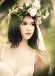 Điệu đà và xinh xắn với mẫu hoa cài tóc đẹp kiêu sa