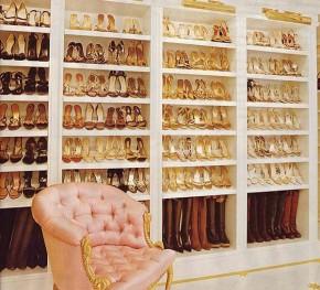 Hâm mộ tủ giày nghìn đôi của Mariah Carey