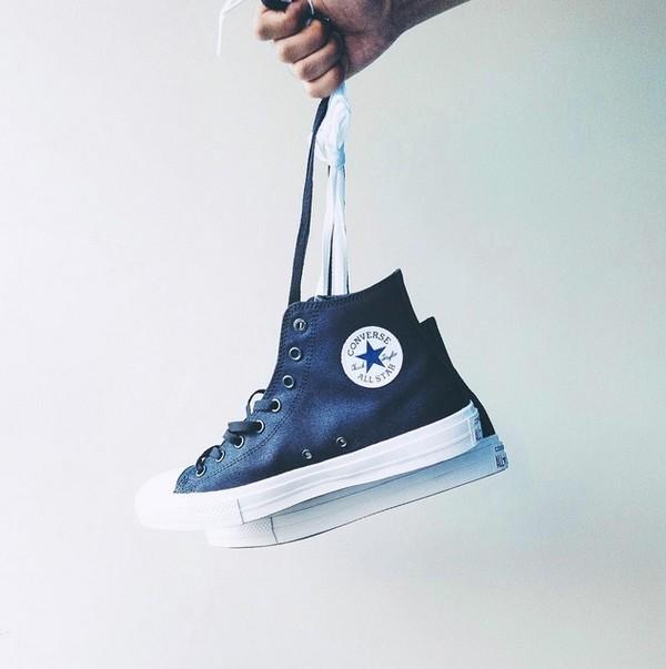 converse chuck 2 xanh đen