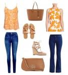 Bật tung mùa hè với gam màu cam năng động