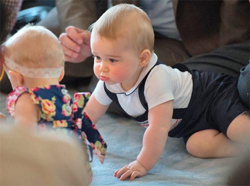 Đáng yêu như 3 em bé nổi tiếng nhất hành tinh - 9
