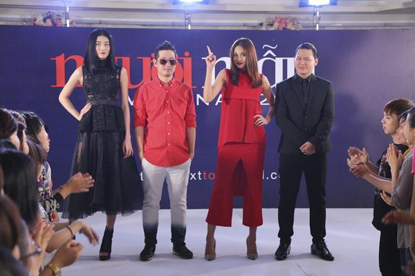 Kha Mỹ Vân, Samuel Hoàng, Thanh Hằng, Hoàng Minh Hà tuyển sinh tại Cần Thơ.
