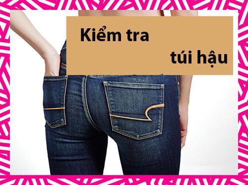 6 bước để mặc quần jeans