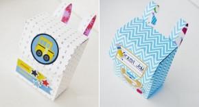 Handmade: Tự tay làm hộp quà ba lô cực xinh