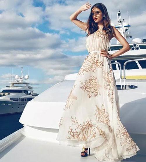Thái Như Ngọc đẹp ngọt ngào với váy hàng hiệu - 5