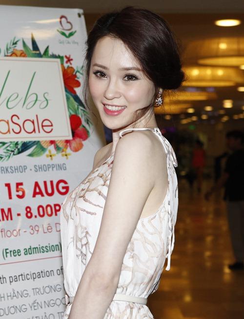 Trà Ngọc Hằng gợi cảm với váy ôm sát dự sự kiện - 11