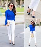 Quần trắng: chiếc quần vạn năng của phái đẹp