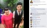 """Chàng trai kém vợ 30kg vẫn """"yêu vợ số một"""""""
