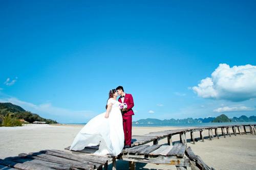 Ngắm ảnh cưới của cặp đôi hơn nhau 30kg - 10